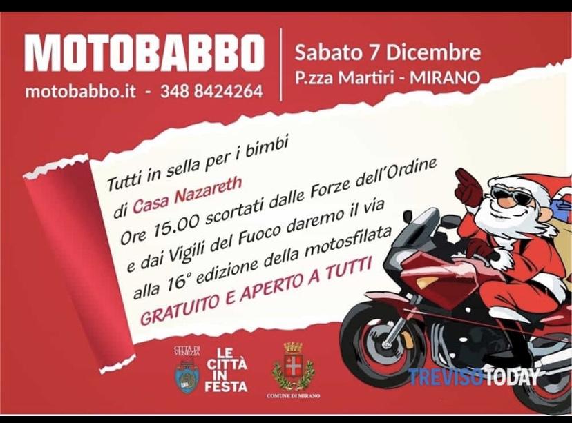 Motobabbo 2019, torna il raduno di Natale tra moto e solidarietà…